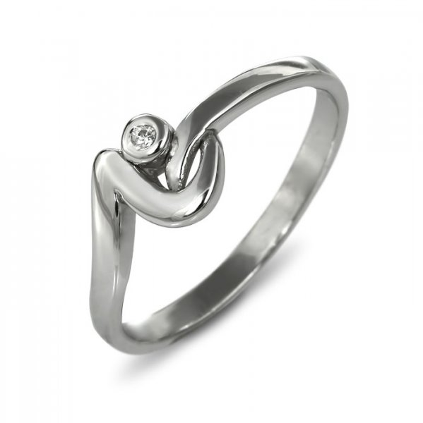 """Годежен пръстен """"РАДОСТ-цирконии"""" R-1156"""