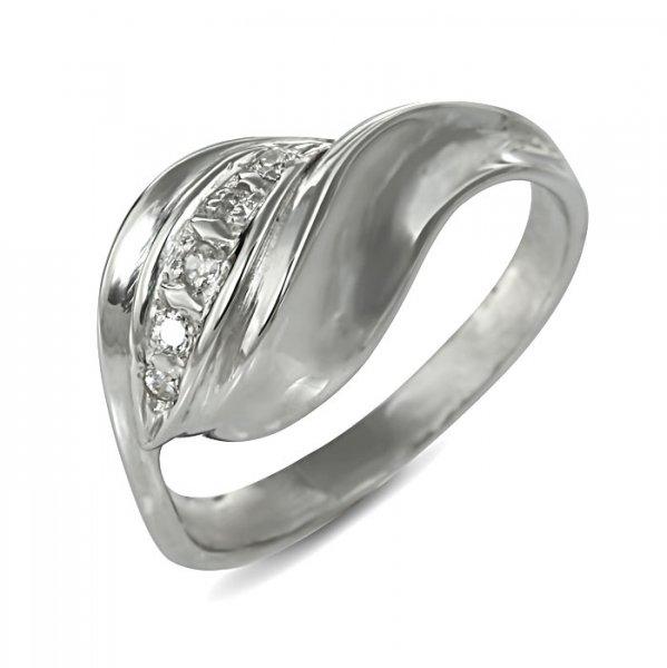 """Годежен пръстен """"ЛИЧЕН-цирконии"""" R-2076"""