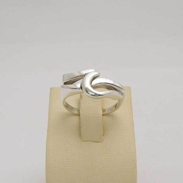 Сребърен пръстен R-103