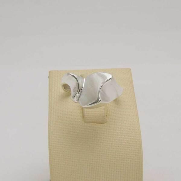Сребърен пръстен R-094
