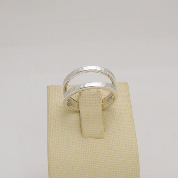 Сребърен пръстен R-096