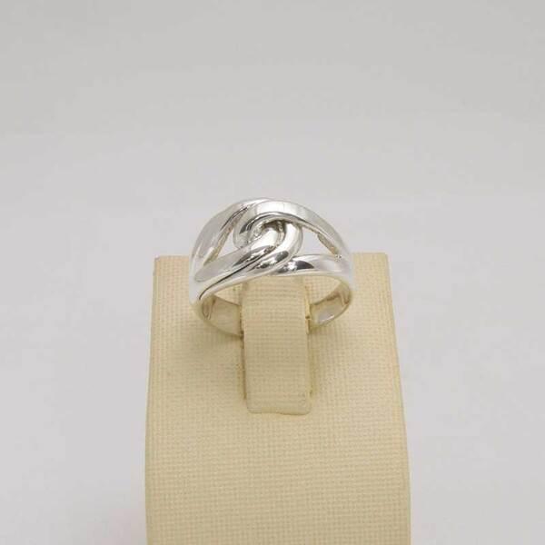 Сребърен пръстен R-097