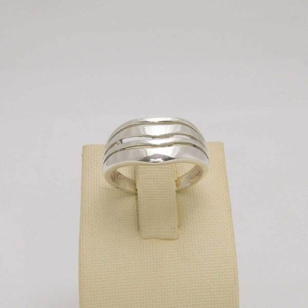 Сребърен пръстен R-099