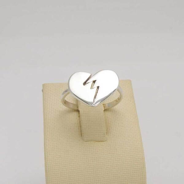 Сребърен пръстен R-100