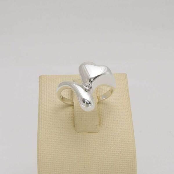 """Сребърен пръстен """"Сърце"""""""