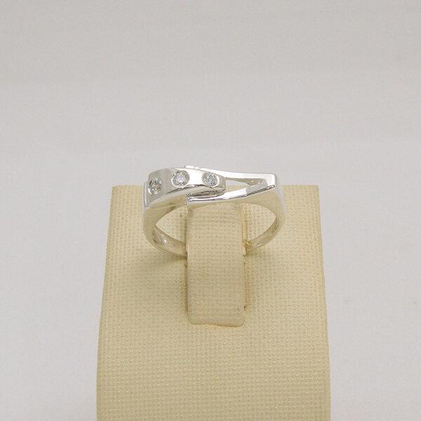 Сребърен пръстен R-107
