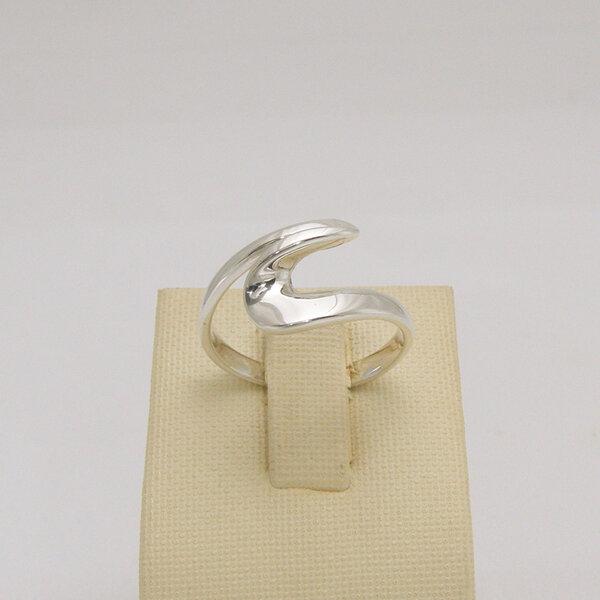 Сребърен пръстен R-108