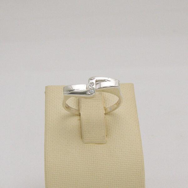 Сребърен пръстен R-109