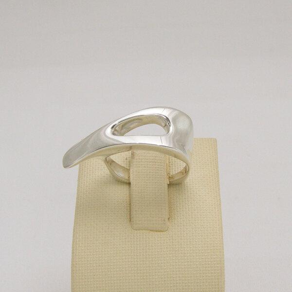 Сребърен пръстен R-115