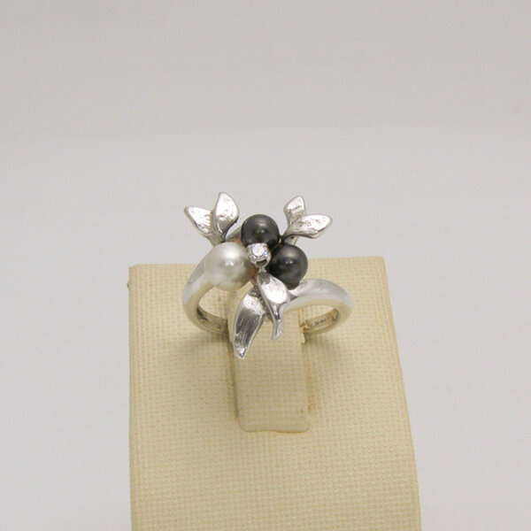 Сребърен пръстен R-118