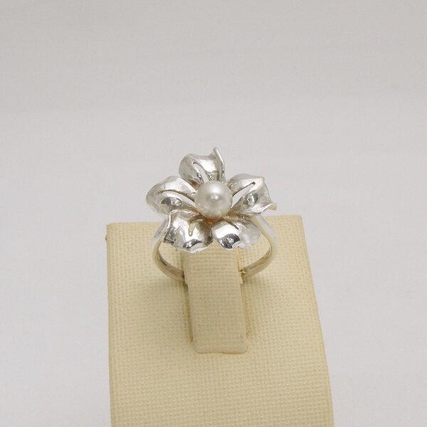 Сребърен пръстен R-119