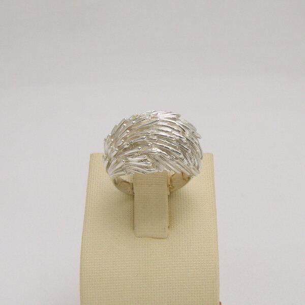 Сребърен пръстен R-121