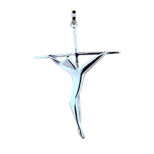 """Сребърен кръст """"Изискан"""""""