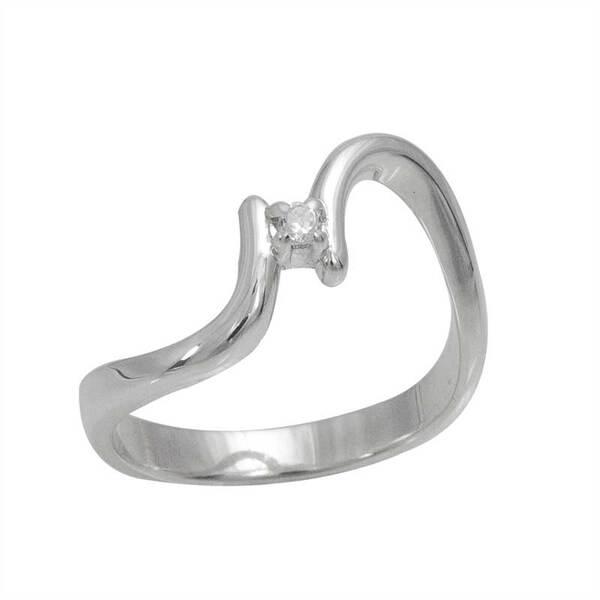 """Златен годежен пръстен """" Завит"""""""