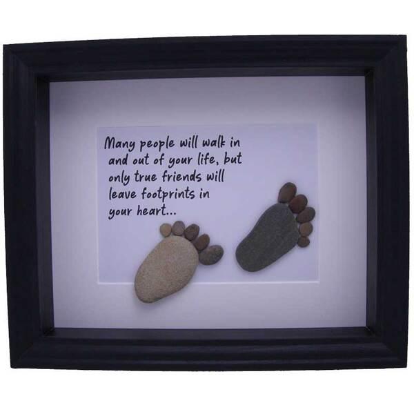 """Картина от морски камъчета """"Любов"""""""