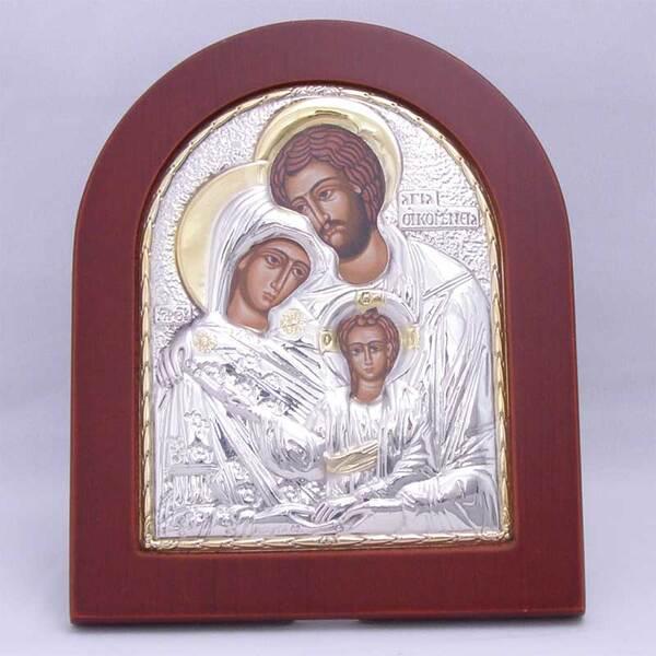 Сребърна икона на Християнското семейство