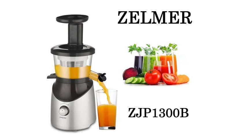 Започнете деня с усмивка и прясно изцеден сок с помоща на сокоизтисквачката Zelmer ZJP1300B