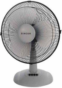 Настолен вентилатор Singer DF40, 50 W, Диаметър: 40 cм, Функция завъртане