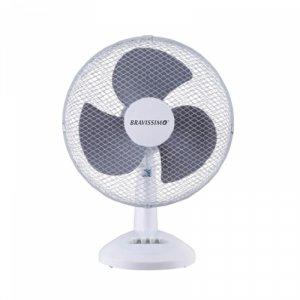 Настолен вентилатор Bravissimo MGDF 0914, 25 W, Диаметър: 40 см, Ситна решетка
