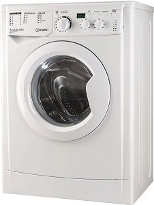 Перална машина Indesit EWSD51051WEU, Енергиен клас А+, 16 програми, Бяла
