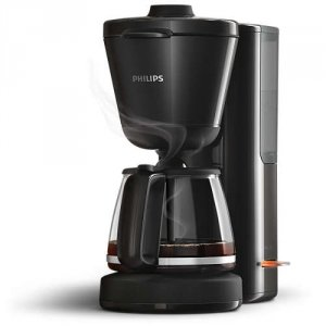 Philips Машина за филтърно кафе Intense, Стъклена кана 1,2л воден резервоар 1000 W black