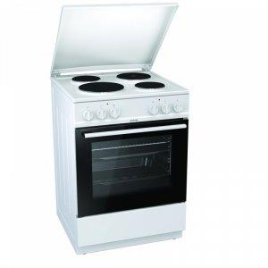 Готварска печка Gorenje E6141WB, Обем 65 л, Клас А, Бял