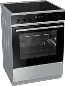 Готварска печка Gorenje EC6565XPA, Обем 65 л, Клас А+, Сива