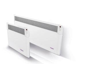 Панелен конвектор Tesy CN 04 250 EIS W, 304190, Електронно управление, Мощност 2500 W, Бял