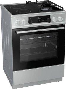 Готварска печка Gorenje KC6355XT, Обем 65 л, Клас А, Сива