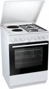 Готварска печка Gorenje K6241WF, Обем 65 л, Клас А, Бяла