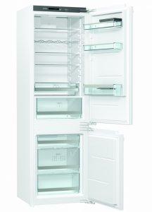 Хладилник с фризер за вграждане Gorenje, NRKI2181A1, Обем 269 л, Клас А+, Бял