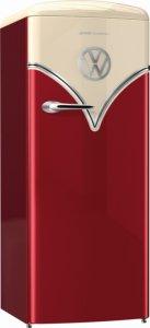 Хладилник с една врата Gorenje, OBRB153R, Обем 254 л, Клас А+++, Бордо