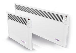 Панелен конвектор Tesy CN 04 300 EIS W, 304191, Електронно управление, Мощност 3000 W, Бял