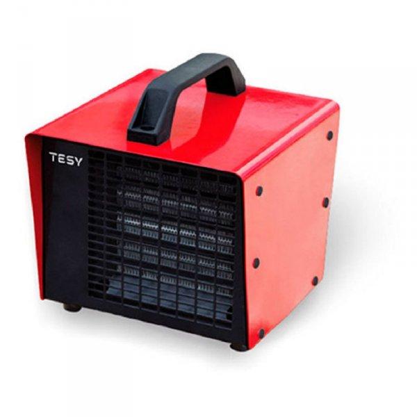 Вентилаторна печка Tesy HL 830V PTC, 421936, Максимална мощност 3000 W, Червена