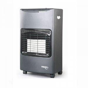 Газова печка Tesy LD 168 D, 420036, Мощност 4200 W, Черна