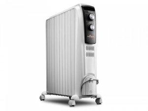 Маслен радиатор DeLonghi TRD4 1025, 410417, Мощност 2500 W, Десет ребра