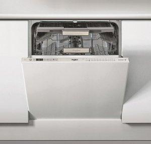 Съдомиялна за вграждане Whirlpool WIO3T133DEL, 14 комплекта, Инокс, 11 програми