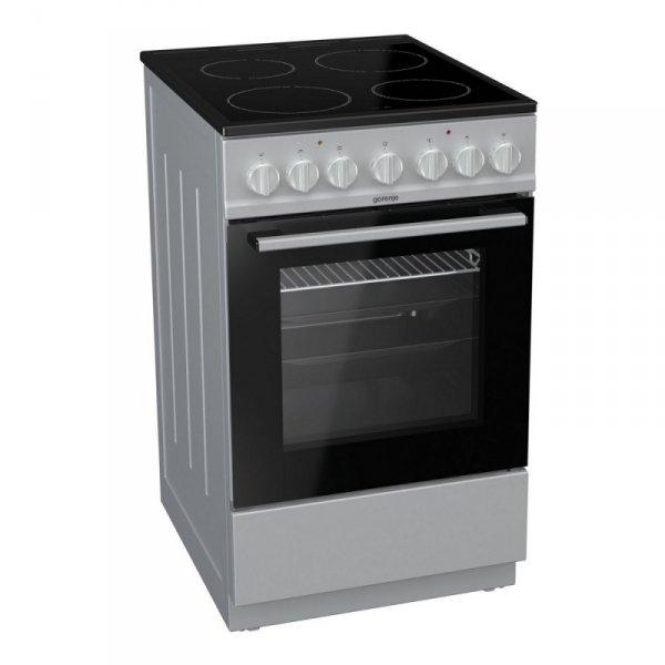 Електрическа печка Gorenje EC5241SG, Клас А, Обем 62 л, 9 функции