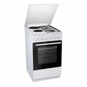 Комбинирана  готварска печка Gorenje K5241WF, клас А, обем 70л., 11 функции