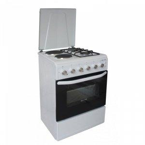 Комбинирана готварска печка Elite EFC-50G60, 4 нагревателни зони, термостат
