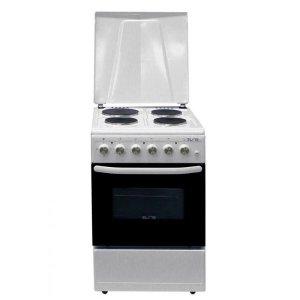 Готварска печка Elite EFC-5060, 4 нагревателни зони, термостат