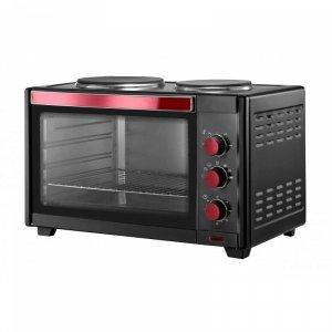 Малка готварска печка Elite ETO-48, обем 48 л, мощност 2000 W