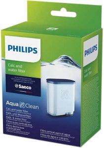 Philips Филтър за накип и вода, Без отстраняване на накип до 5000 чаши*, удължават живота на машината, 1 бр. филтър AquaClean