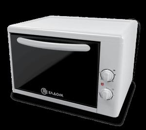 Мини готварска печка Eldom 204VW, обем 38 л, Клас А, Бяла