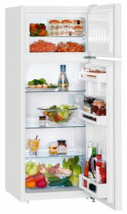 Хладилник с фризер Liebherr CTP 2521, Обем 235л, Клас А++,H 140.1 см, Бял
