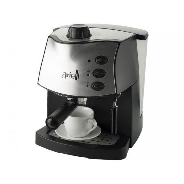 Кафемашина Arielli KM-100BS, Еспресо, мощност 850 W, 15 бара, Черна
