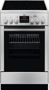 Готварска печка AEG CCB56401BX, Клас А, Обем 58 л, Kерамичен плот