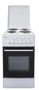 Готварска печка Arielli C-5042FL, Клас А, Обем 46 л, Вентилатор, Бял