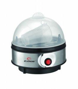 Яйцеварка Elekom EK 109 S/S, Мощност 350 W, 3 нива на варене, Автоматично изключване