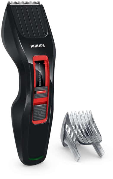 Машинка за подстригване Philips HC-3420/15, Време за работа 60 минути, Настройки за дължина 0,5 до 23 мм